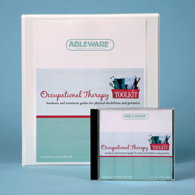 Ableware 718170001 Occupational Therapy Toolkit-CD Version-English