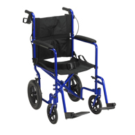 Drive Lightweight Expedition Transport Wheelchair with Hand Brakes