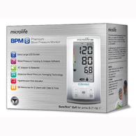 Microlife BP3GU1-8X Blood Pressure Monitor with Extra Large LCD Screen